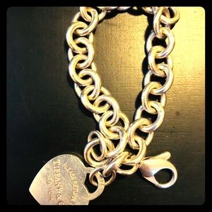 Tiffany&co heart bracelet